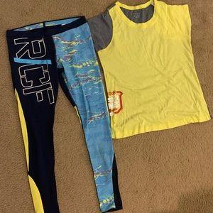 Reebok Crossfit Shirt & Compression Pants